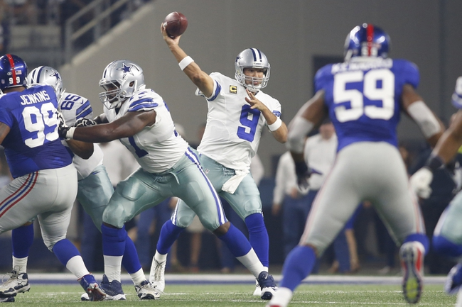 New York Giants at Dallas Cowboys 9/13/15 NFL Score, Recap, News and Notes