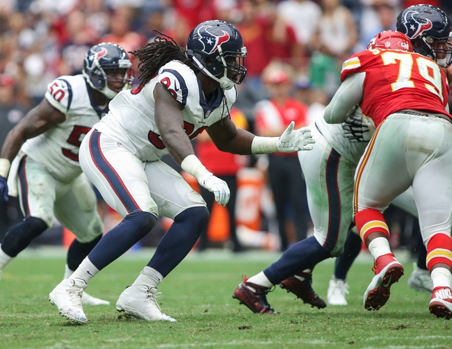 Houston Texans vs. Kansas City Chiefs NFL Wildcard Playoff - 1/9/16 NFL Pick, Odds, and Prediction