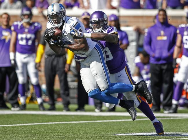 Detroit Lions vs. Minnesota Vikings - 10/25/15 NFL Pick, Odds, and Prediction