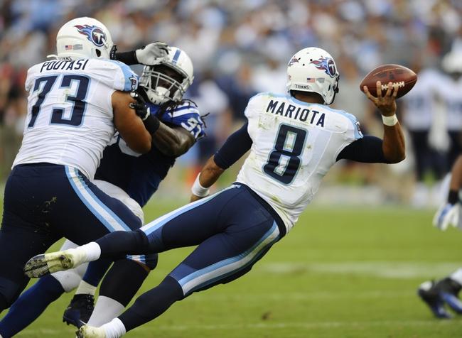 Tennessee Titans vs. Buffalo Bills - 10/11/15 NFL Pick, Odds, and Prediction