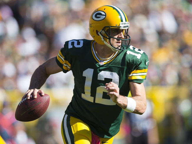 Packers vs. Chargers - 10/18/15 NFL Pick, Odds, and Prediction