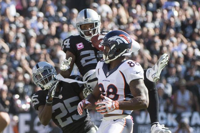 Denver Broncos vs. Oakland Raiders - 12/13/15 NFL Pick, Odds, and Prediction