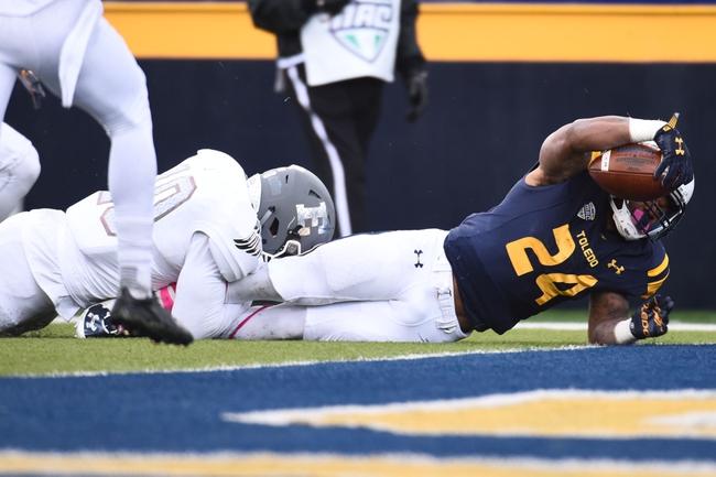 Toledo vs. Eastern Michigan - 10/7/17 College Football Pick, Odds, and Prediction