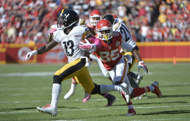 Pittsburgh Steelers vs. Kansas City Chiefs - 10/2/16 NFL Pick, Odds, and Prediction