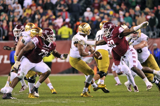 Notre Dame vs. Temple - 9/2/17 College Football Pick, Odds, and Prediction