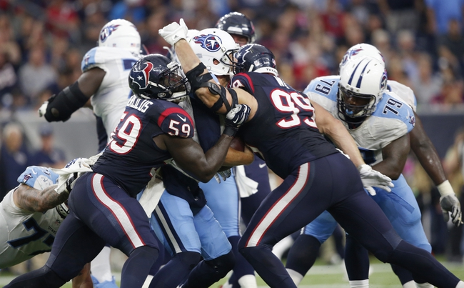 Tennessee Titans vs. Houston Texans - 12/27/15 NFL Pick, Odds, and Prediction