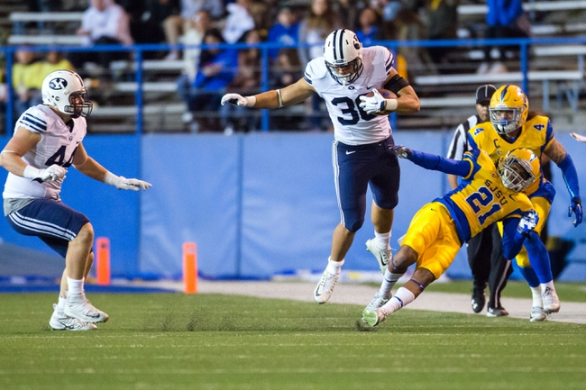 BYU vs. San Jose State - 10/28/17 College Football Pick, Odds, and Prediction