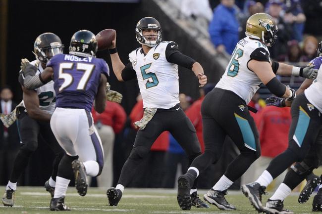 Jacksonville Jaguars vs. Baltimore Ravens - 9/25/16 NFL Pick, Odds, and Prediction
