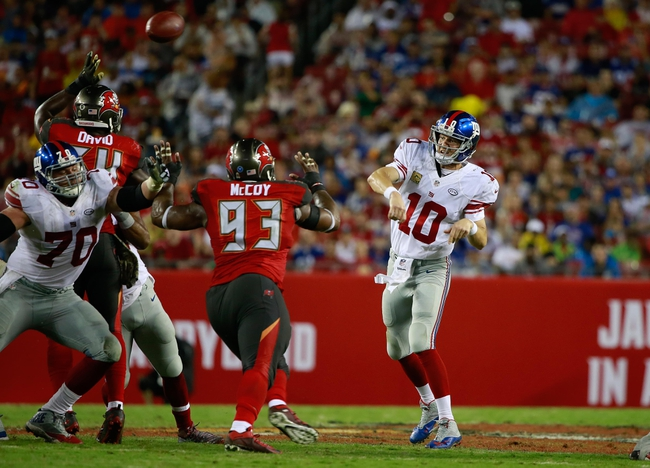 New York Giants at Tampa Bay Buccaneers - 10/1/17 NFL Pick, Odds, and Prediction