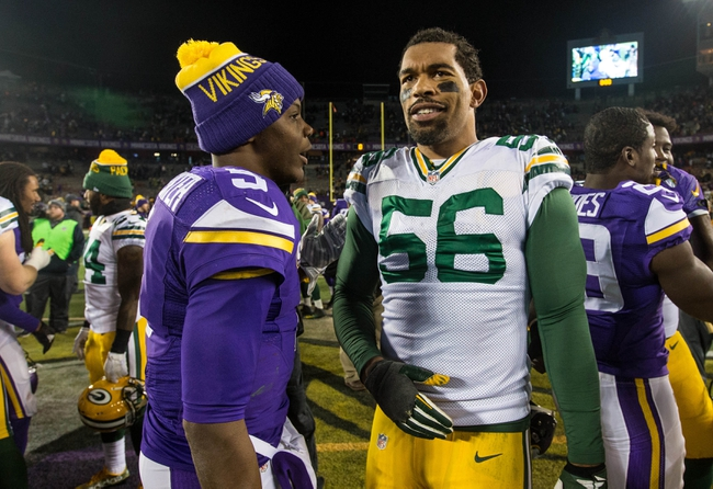 Green Bay Packers vs. Minnesota Vikings - 1/3/16 NFL Pick, Odds, and Prediction