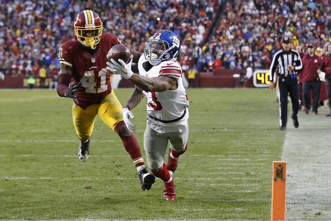 New York Giants vs. Washington Redskins - 9/25/16 NFL Pick, Odds, and Prediction