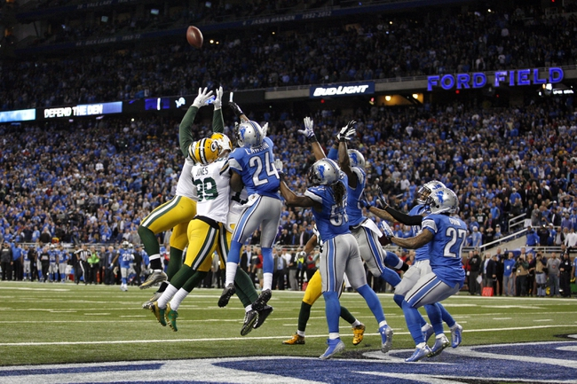 Green Bay Packers at Detroit Lions 12/3/15 NFL Score, Recap, News and Notes