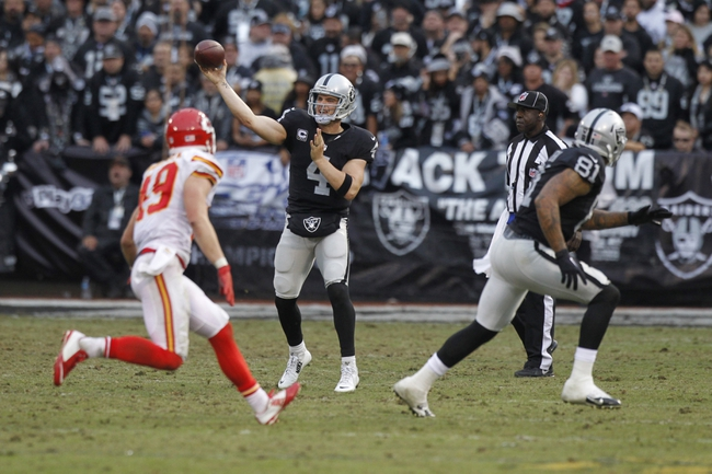 Kansas City Chiefs vs. Oakland Raiders - 1/3/16 NFL Pick, Odds, and Prediction