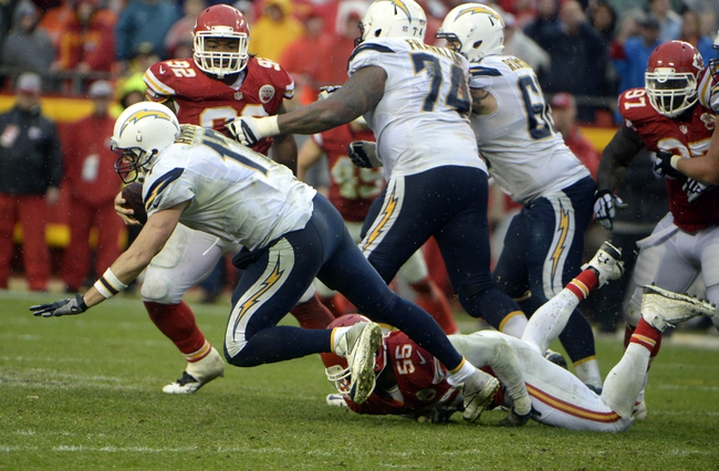 Kansas City Chiefs vs. San Diego Chargers - 9/11/16 NFL Pick, Odds, and Prediction