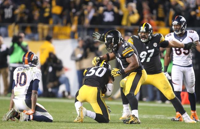 Denver Broncos vs. Pittsburgh Steelers NFL Playoffs - 1/17/16 NFL Pick, Odds, and Prediction