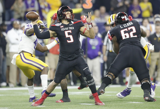 Texas Tech Red Raiders 2016 College Football Preview Schedule