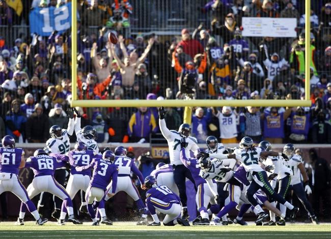 Seattle Seahawks vs. Minnesota Vikings - 8/18/16 NFL Pick, Odds, and Prediction