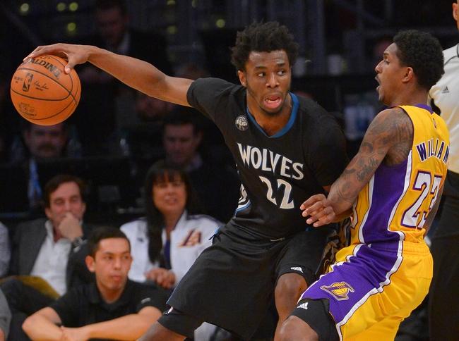 Minnesota Timberwolves vs. Los Angeles Lakers - 11/13/16 ...