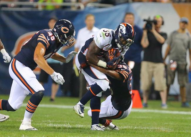 Chicago Bears vs. Denver Broncos - 8/10/17 NFL Pick, Odds, and Prediction