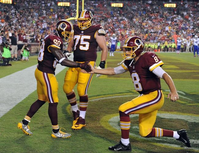 Washington Redskins vs. Pittsburgh Steelers - 9/12/16 NFL Pick, Odds, and Prediction