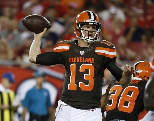Cleveland Browns vs. Chicago Bears - 9/1/16 NFL Pick, Odds, and Prediction