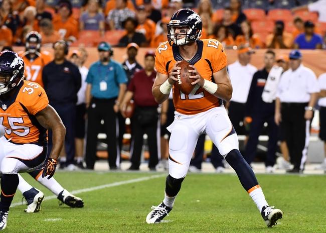 Denver Broncos at Arizona Cardinals- 9/1/16 NFL Pick, Odds, and Prediction