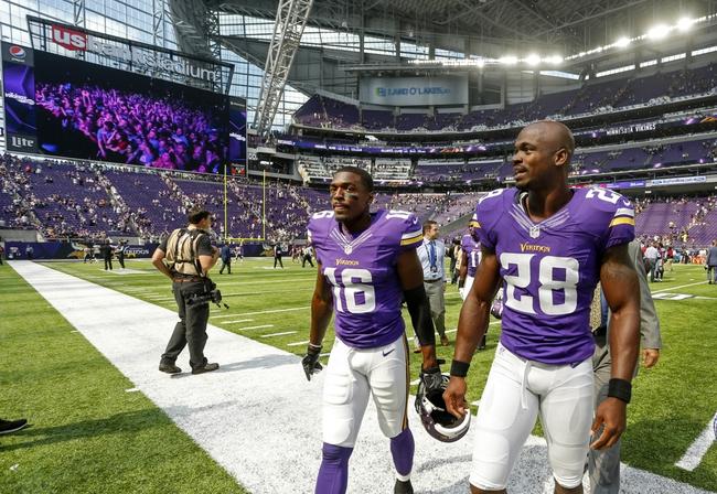 Los Angeles Rams at Minnesota Vikings- 9/1/16 NFL Pick, Odds, and Prediction