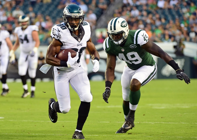 New York Jets vs. Philadelphia Eagles - 8/31/17 NFL Pick, Odds, and Prediction