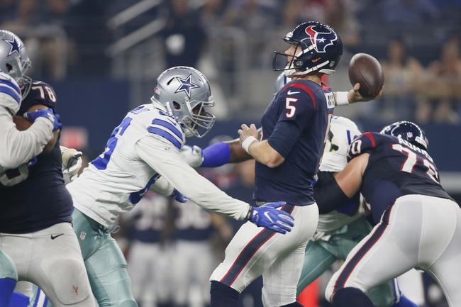 Houston Texans vs. Dallas Cowboys - 8/31/17 NFL Pick, Odds, and Prediction