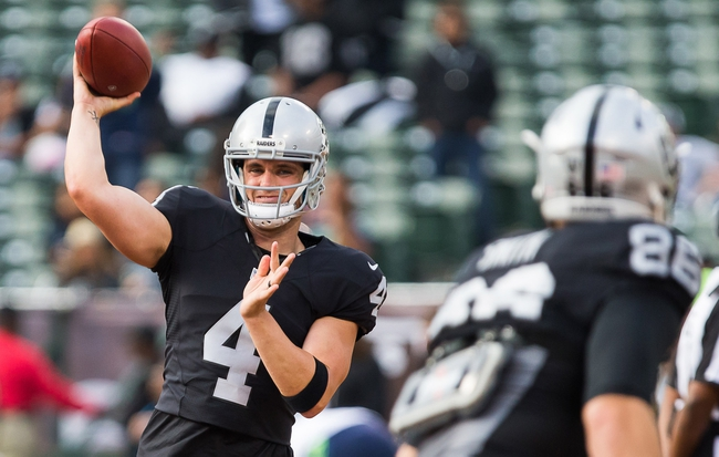 Oakland Raiders at New Orleans Saints- 9/11/16 NFL Pick, Odds, and Prediction