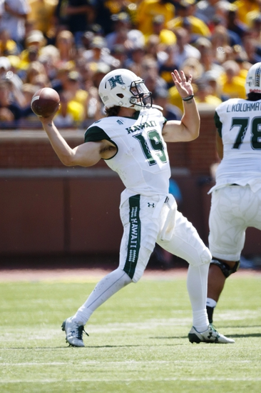 Hawaii vs. UNLV - 10/16/16 College Football Pick, Odds, and Prediction