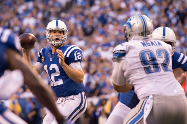 Indianapolis Colts vs. Detroit Lions - 8/13/17 NFL Pick, Odds, and Prediction