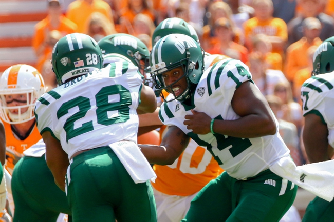 Ohio Bobcats vs. Bowling Green Falcons - 10/8/16 College Football Pick, Odds, and Prediction