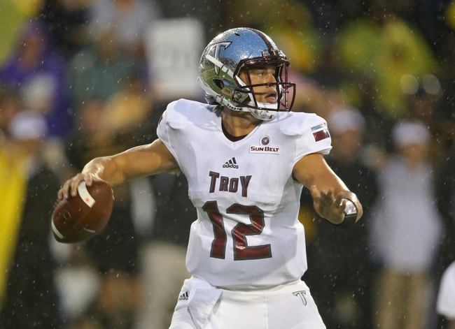 South Alabama Jaguars vs. Troy Trojans - 10/20/16 College Football Pick, Odds, and Prediction