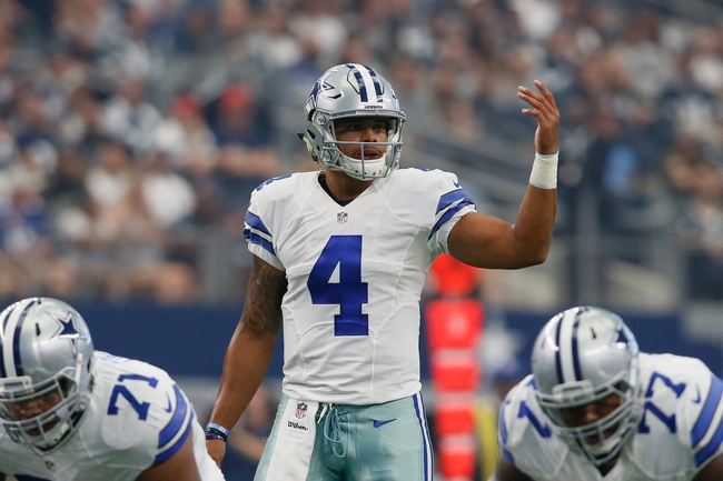 Dallas Cowboys vs. Chicago Bears - 9/25/16 NFL Pick, Odds, and Prediction