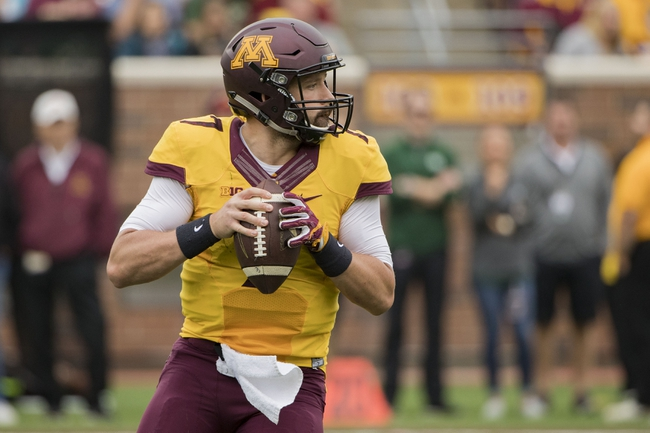 Minnesota vs. Iowa - 10/8/16 College Football Pick, Odds, and Prediction