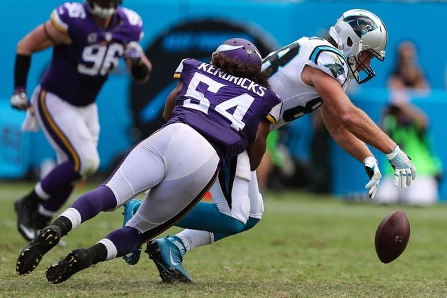 Minnesota Vikings at Carolina Panthers - 12/10/17 NFL Pick, Odds, and Prediction