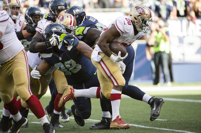 San Francisco 49ers vs. Seattle Seahawks - 1/1/17 NFL Pick, Odds, and Prediction