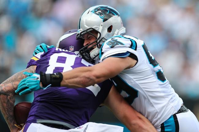 Carolina Panthers vs. Minnesota Vikings - 12/10/17 NFL Pick, Odds, and Prediction