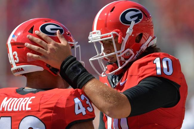 Vanderbilt at Georgia - 10/15/16 College Football Pick, Odds, and Prediction