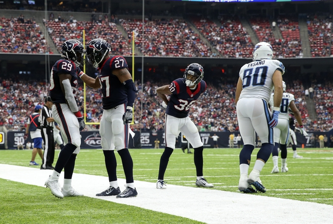 Tennessee Titans vs. Houston Texans - 1/1/17 NFL Pick, Odds, and Prediction