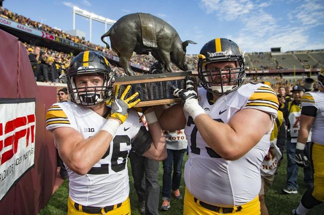 Iowa vs. Minnesota - 10/28/17 College Football Pick, Odds, and Prediction
