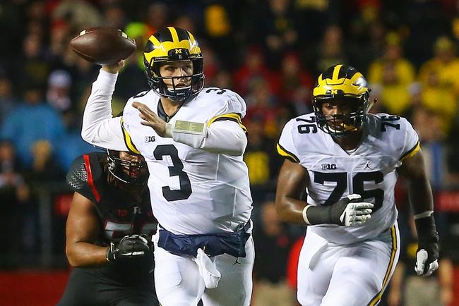 Michigan vs. Illinois - 10/22/16 College Football Pick, Odds, and Prediction