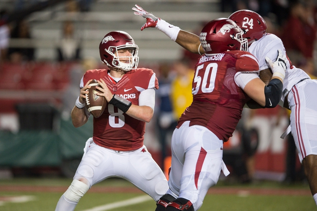 Arkansas vs. Ole Miss - 10/15/16 College Football Pick, Odds, and Prediction