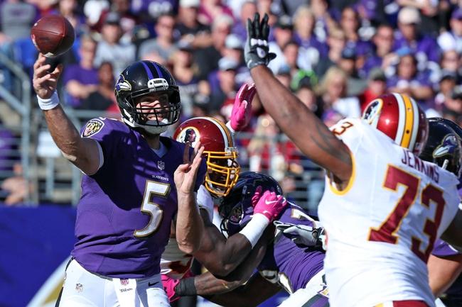 Washington Redskins at Baltimore Ravens - 8/10/17 NFL Pick, Odds, and Prediction