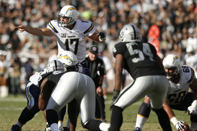 San Diego Chargers vs. Oakland Raiders - 12/18/16 NFL Pick, Odds, and Prediction
