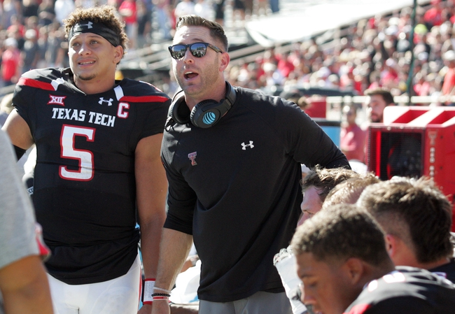 Texas Tech vs. Oklahoma - 10/22/16 College Football Pick, Odds, and Prediction