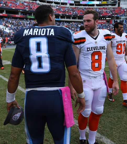 Tennessee Titans at Cleveland Browns - 10/22/17 NFL Pick, Odds, and Prediction