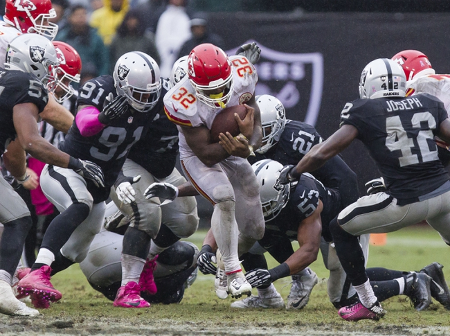 Kansas City Chiefs vs. Oakland Raiders - 12/8/16 NFL Pick, Odds, and Prediction