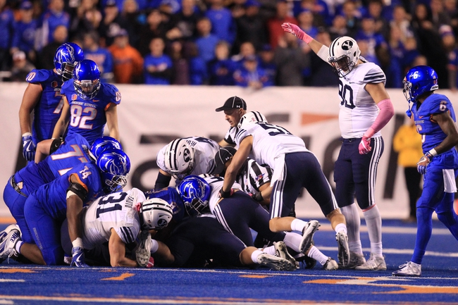 Boise State at Brigham Young - 10/6/17 College Football Pick, Odds, and Prediction
